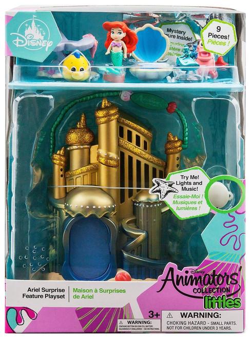 Disney The Little Mermaid Littles Animators' Collection Ariel Surprise Feature Exclusive Micro Playset [2019]