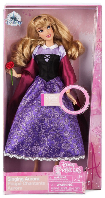Disney Princess Sleeping Beauty Aurora as Briar Rose Exclusive 11-Inch Singing Doll