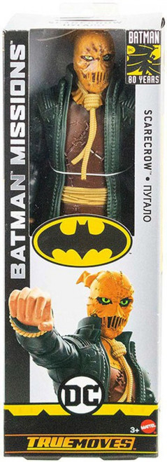 DC Batman Missions Scarecrow Action Figure