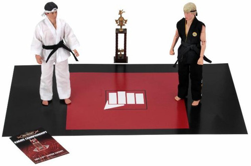 NECA The Karate Kid Daniel & Johnny Clothed Action Figure 2-Pack [Tournament]
