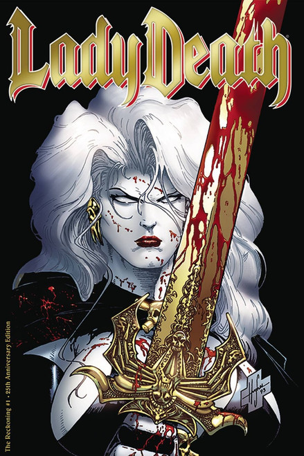 Coffin Comics Lady Death #1 The Reckoning Comic Book [25th Anniversary Edition]