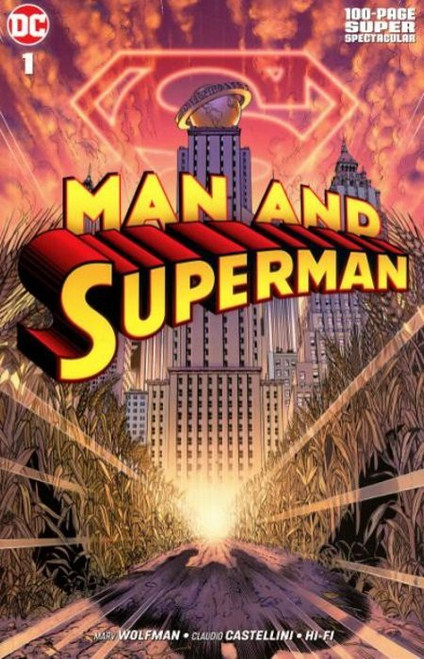 DC Man and Superman #1 Comic Book [100 Page Super Spectacular]