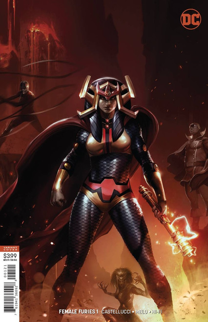DC Female Furies #1 Comic Book [Mattina Variant Cover]