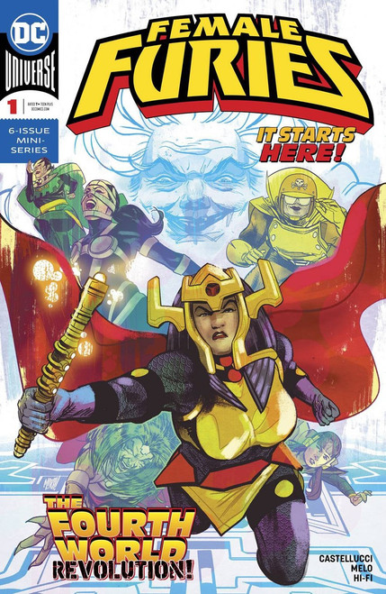 DC Female Furies #1 Comic Book