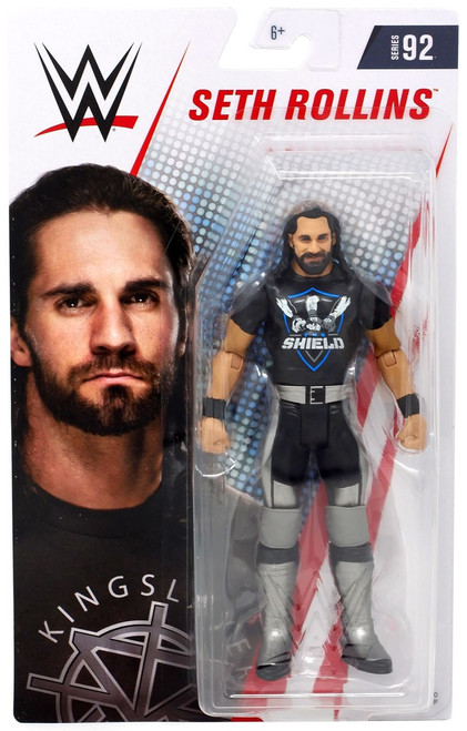 WWE Wrestling Series 92 Seth Rollins Action Figure [Shield Shirt]