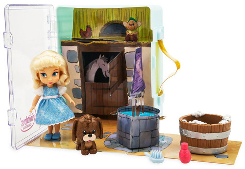 Disney Princess Animators' Collection Cinderella Exclusive Mini Doll Playset [2019]