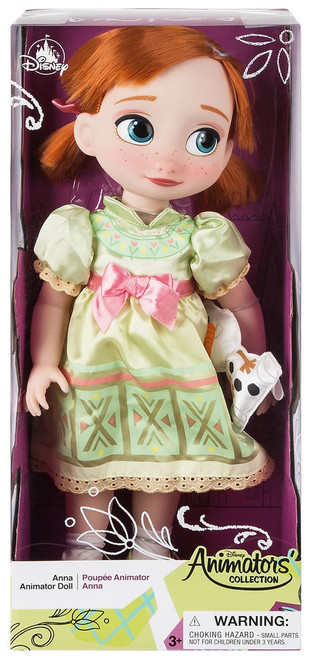 Disney Frozen Animators' Collection Anna Exclusive 16-Inch Doll [2019]