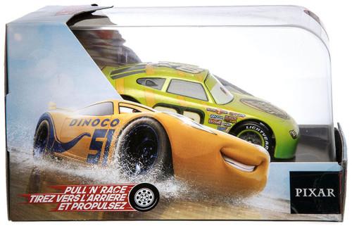 Disney / Pixar Cars Cars 3 Pull 'N' Race Darren Leadfoot Exclusive Diecast Car
