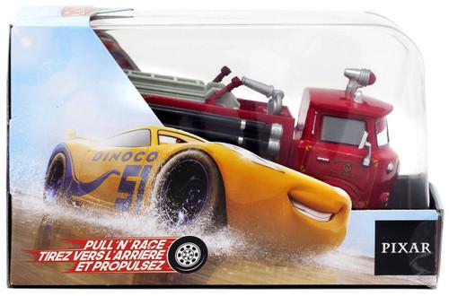 Disney / Pixar Cars Cars 3 Pull 'N' Race Red Exclusive Diecast Car
