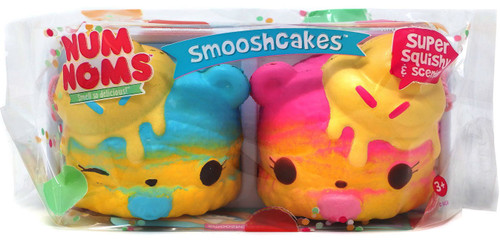 Num Noms Smooshcakes Baby Scoops & Baby Duo Squeeze Toy 2-Pack