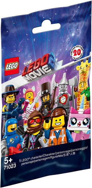 LEGO Minifigures The LEGO Movie 2 Mystery Pack #71023 [1 RANDOM Figure]