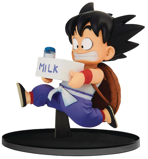 Dragon Ball World Figure Colosseum 2 Young Son Goku 4.3-Inch Collectible PVC Figure Vol.7