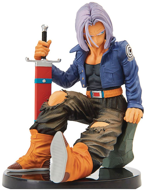 Dragon Ball Z World Figure Colosseum 2 Future Trunks 5.1-Inch Collectible PVC Figure Vol.8