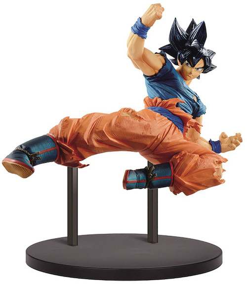 Dragon Ball Super FES!! Ultra Instinct -Sign- Son Goku 7.9-Inch Collectible PVC Figure Vol.10