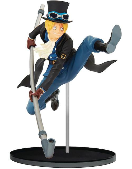 One Piece World Figure Colosseum 2 Sabo 3.9-Inch Collectible PVC Figure Vol.8 [Dressrosa Arc]