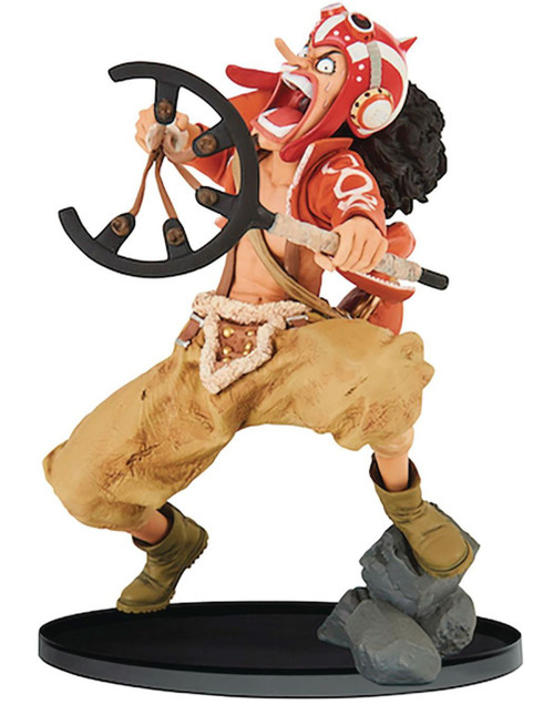 One Piece World Figure Colosseum 2 God Usopp 5.9-Inch Collectible PVC Figure Vol.7