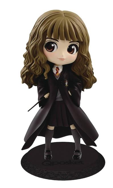 Harry Potter Q Posket Hermione Granger 5.5-Inch Collectible PVC Figure [Normal Color Version 2]