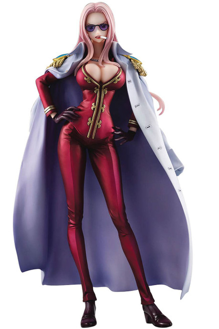 One Piece Portrait of Pirates Hina 9.25-Inch Collectible PVC Figure [Limited Edition Version]