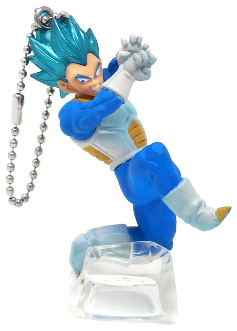 Dragon Ball Super Battle Figure Series 02 Super Saiyan Blue Vegeta Buildable Figure [Loose]