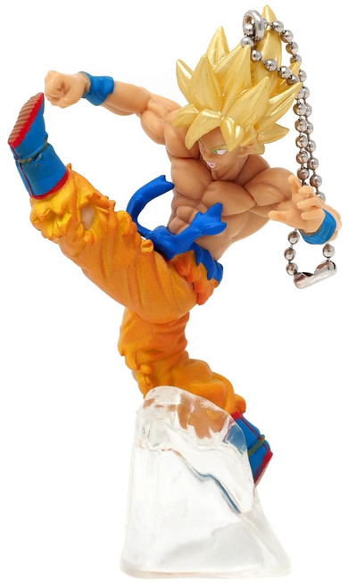 Dragon Ball Super Battle Figure Series 02 Super Saiyan Goku Buildable Figure [Loose]