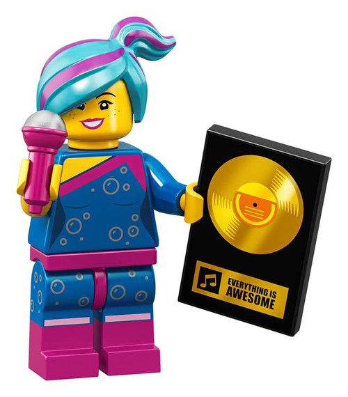 The LEGO Movie 2 Flashback Lucy Minifigure [Loose]