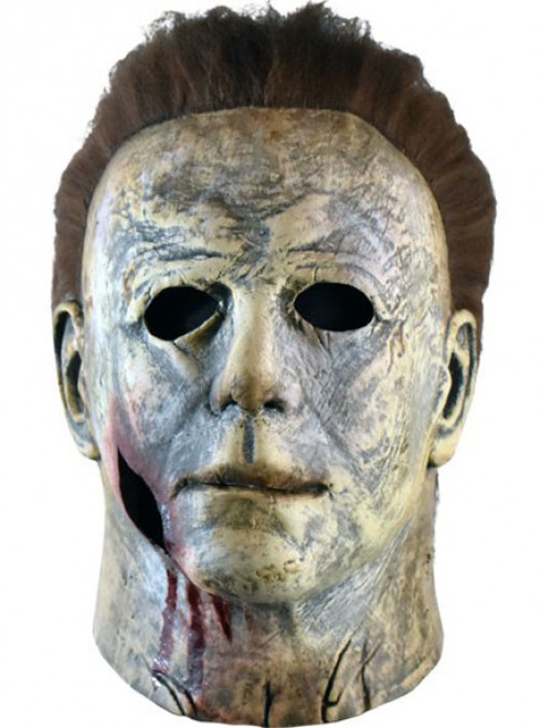 Halloween 2018 Michael Myers Mask Prop Replica [Final Battle, Bloody Version]