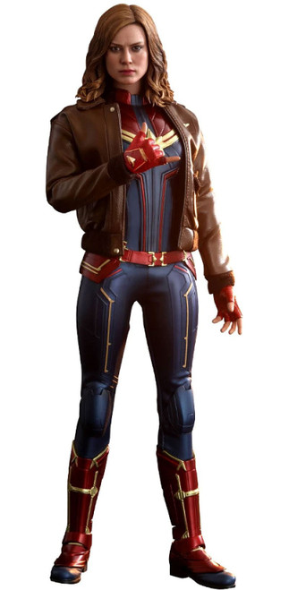 Movie Masterpiece Captain Marvel Diecast Collectible Figure [Deluxe Version]