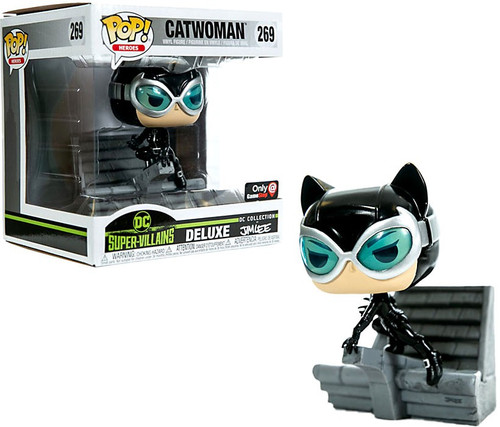Funko DC Collection by Jim Lee POP! Heroes Catwoman Exclusive Deluxe Vinyl Figure #269