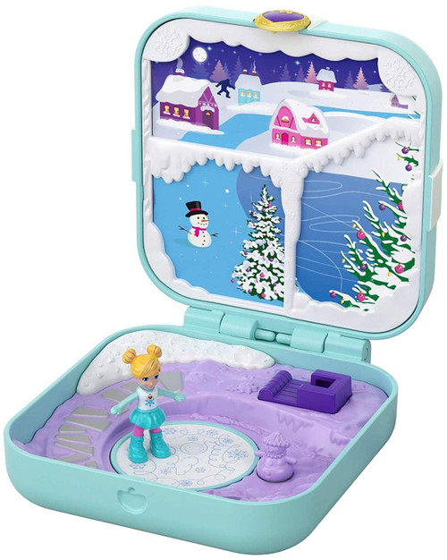 Polly Pocket Frosty Fairytale Playset
