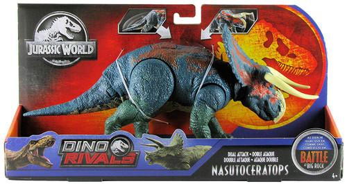 Jurassic World Fallen Kingdom Dino Rivals Nasutoceratops Action Figure