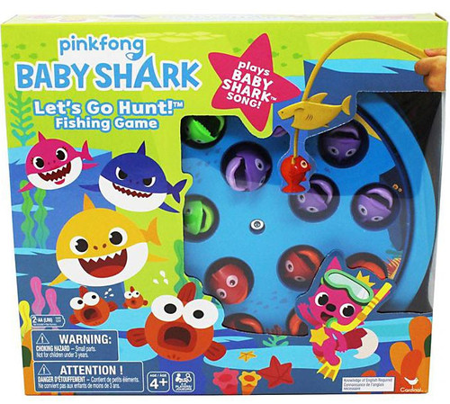 Pinkfong Baby Shark Let's Go Hunt! Fishing Game [Plays Baby Shark Song]