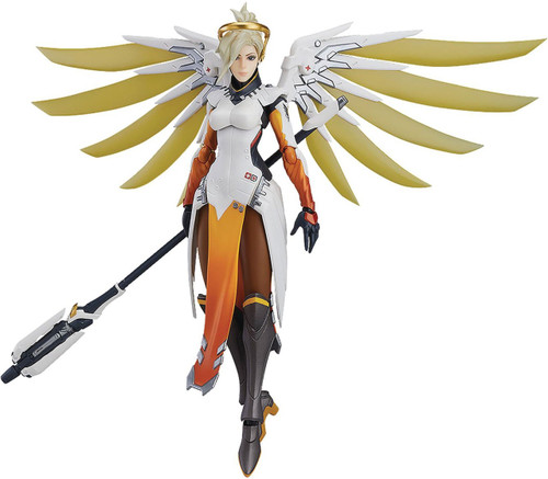 Overwatch Figma Mercy Action Figure #427
