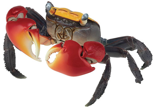 Revo Geo Red-Clawed Crab (Chiromantes Haematocheir) Action Figure