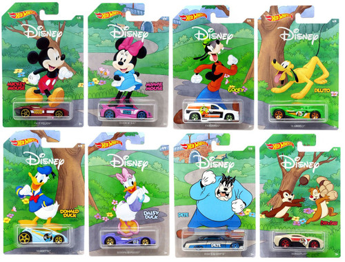 Disney Hot Wheels Mickey the True Original Die Cast Car Set