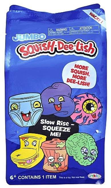 Squish-Dee-Lish JUMBO Wacky Series 1 Mystery Pack