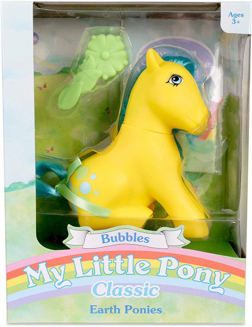 My Little Pony Classic Earth Ponies Bubbles Figure