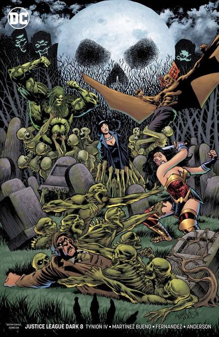 DC Justice League Dark #8 Comic Book [Kelley Jones Variant Cover]