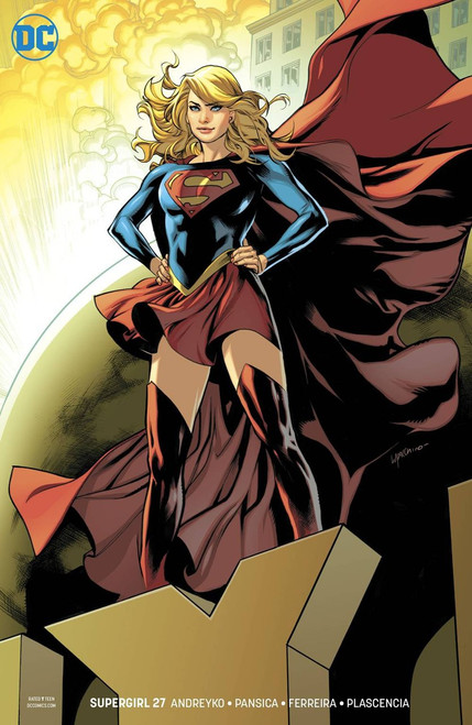 DC Supergirl #27 Comic Book [Emanuela Lupacchino Variant Cover]