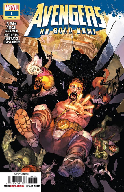 Marvel Comics Avengers: No Road Home #1 of 10 Comic Book