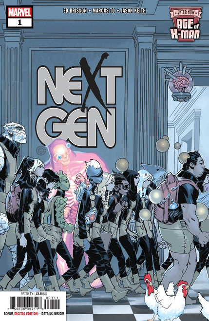 Marvel Comics Age of X-Men: Nextgen #1 Comic Book