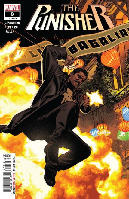 Marvel Comics The Punisher #8 Comic Book
