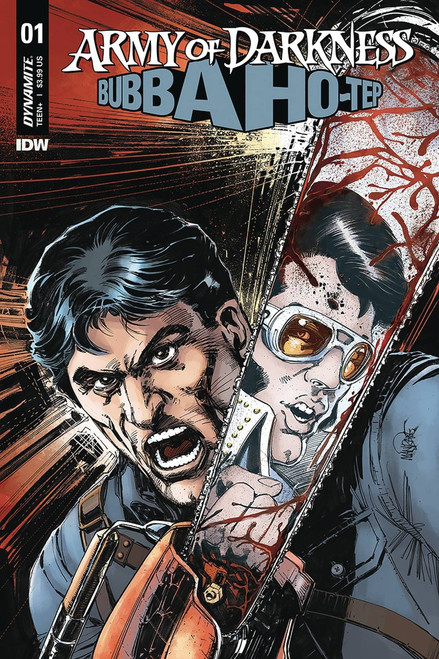 Dynamite Entertainment Army of Darkness Vs. Bubba Hotep #1 Comic Book [Cover B Madrake]