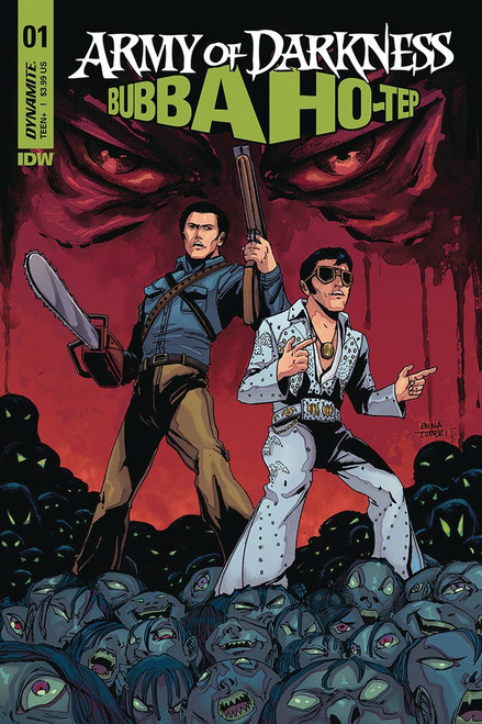 Dynamite Entertainment Army of Darkness Vs. Bubba Hotep #1 Comic Book [Cover E Kubert]
