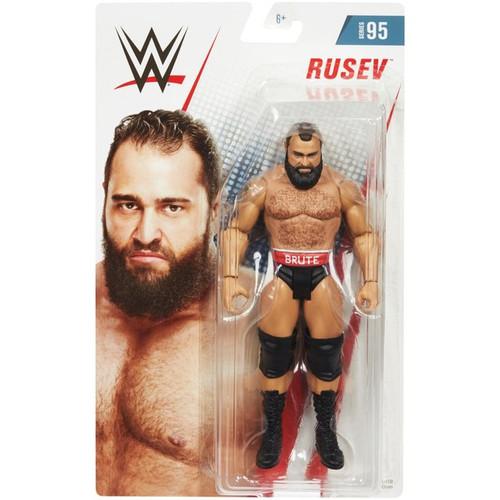 WWE Wrestling Series 95 Rusev Action Figure