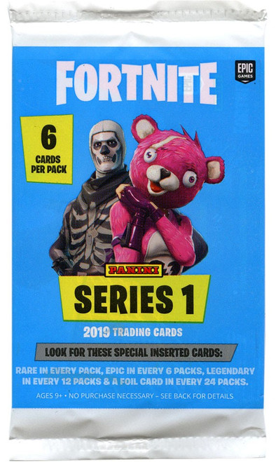 Fortnite Panini Series 1 Trading Card Pack [6 Cards]
