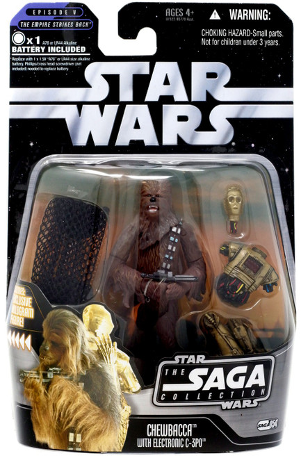 Star Wars The Empire Strikes Back 2006 Saga Collection Chewbacca Action Figure #54 [Cloud City Escape]