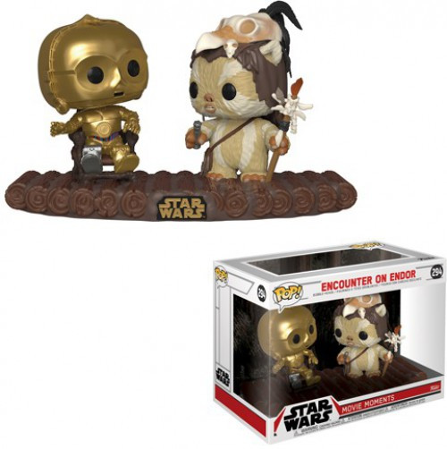 Funko Return of the Jedi POP! Star Wars Encounter on Endor Vinyl Figure 2-Pack [Movie Moments]
