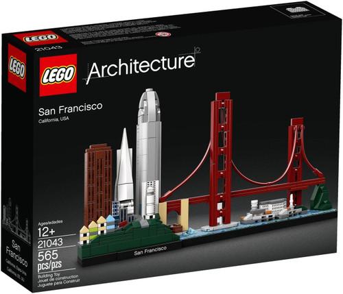 LEGO Architecture San Francisco, California USA Set #21043