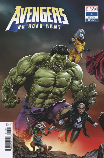 Marvel Comics Avengers: No Road Home #1 of 10 Comic Book [Suayan Connecting Variant Cover]