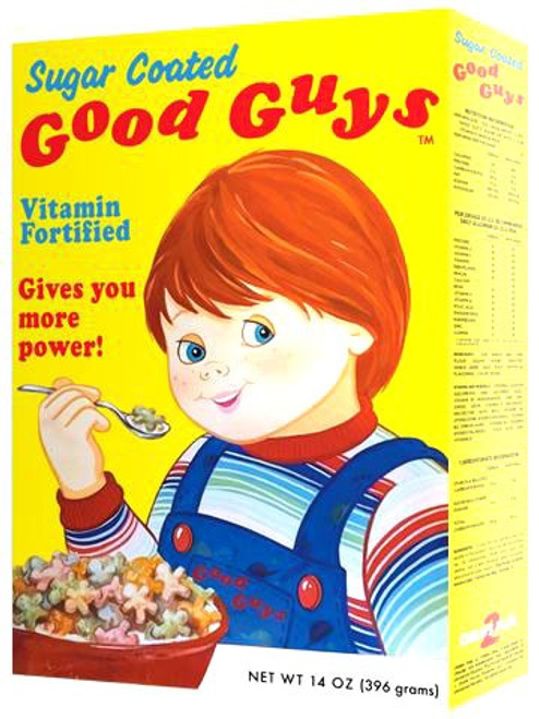 Child's Play 2 Good Guys Cereal Box Prop Replica